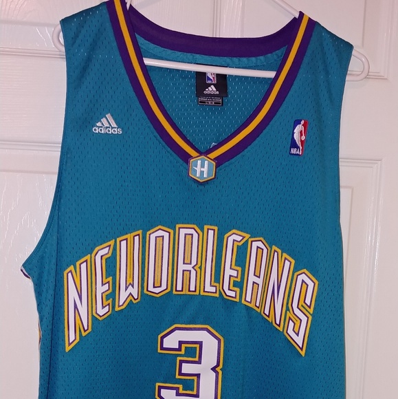 3782b40afc1 adidas Other - Chris Paul New Orleans Hornets Jersey Men s L